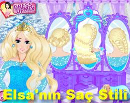 Elsa'nın Saç Stili