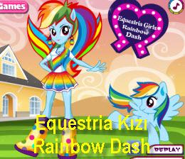 Equestria Kızı Rainbow Dash