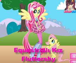 Equestrialı Kız Fluttershy