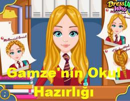 Gamze'nin Okul Hazırlığı