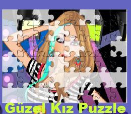 Güzel Kız Puzzle