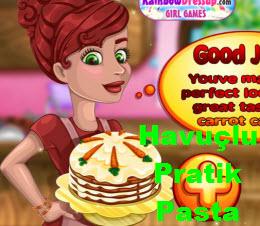 Havuçlu Pratik Pasta