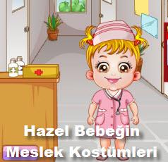Hazel Bebeğin Meslek Kostümleri