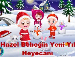 Hazel Bebeğin Yeni Yıl Heyecanı
