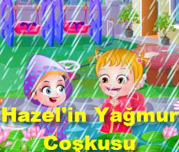 Hazel'in Yağmur Coşkusu