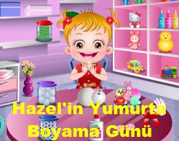 Hazel In Yumurta Boyama Gunu Oyna