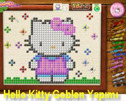Hello Kitty Goblen Yapımı