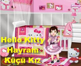 Hello Kitty Hayranı Küçü Kız