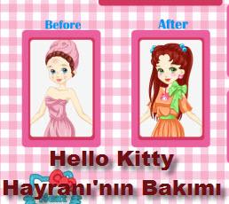 Hello Kitty Hayranı'nın Bakımı