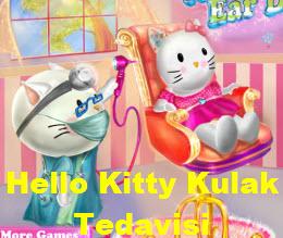 Hello Kitty Kulak Tedavisi