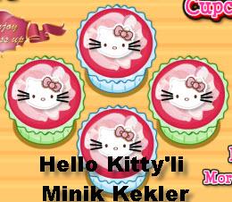 Hello Kitty'li  Minik Kekler
