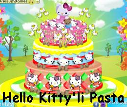 Hello Kitty'li Pasta