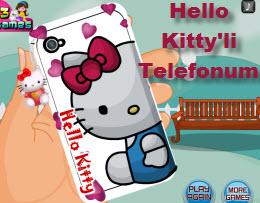 Hello Kitty'li Telefonum