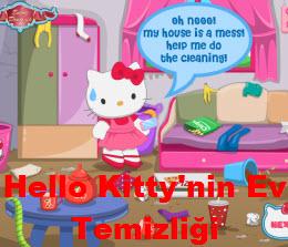 Hello Kitty'nin Ev Temizliği