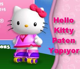 Hello Kitty Paten Yapıyor