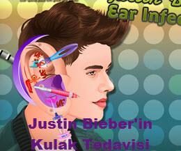 Justin Bieber'in Kulak Tedavisi