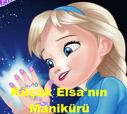 Küçük Elsa'nın Manikürü