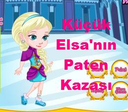 Küçük Elsa'nın Paten Kazası