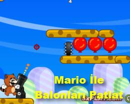 Mario İle Balonları Patlat