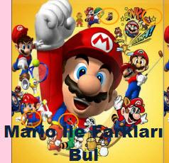 Mario İle Farkları Bul