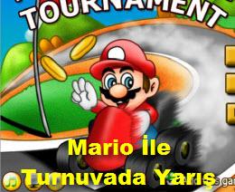 Mario İle Turnuvada Yarış