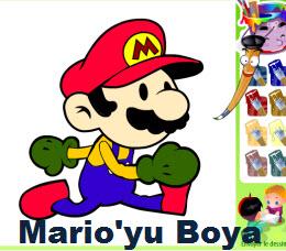 Mario'yu Boya