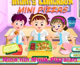Mine'nin Minik Pizzaları