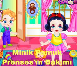 Minik Pamuk Prenses'in Bakımı