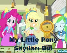 My Little Pony Sayıları Bul