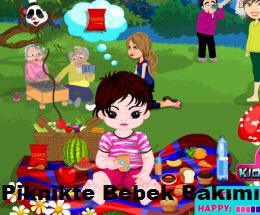 Piknikte Bebek Bakımı