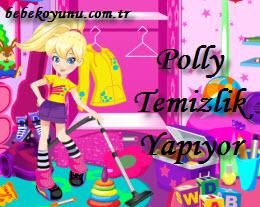 Polly Temizlik Yapıyor
