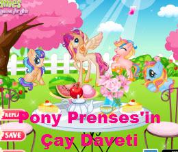 Pony Prenses'in Çay Daveti
