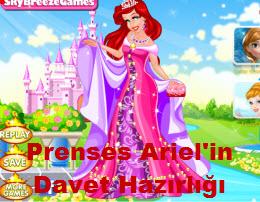 Prenses Ariel'in Davet Hazırlığı