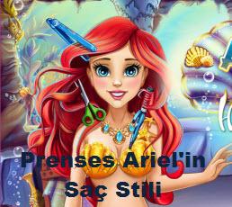 Prenses Ariel'in  Saç Stili