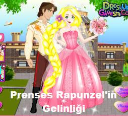 Prenses Rapunzel'in Gelinliği