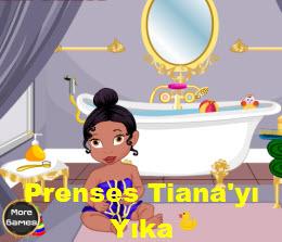 Prenses Tiana'yı Yıka
