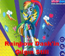 Rainbow Dash'in Çılgın Stili