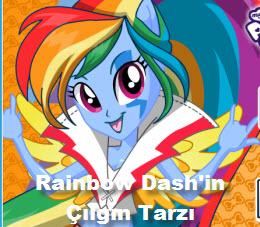 Rainbow Dash'in Çılgın Tarzı