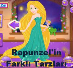 Rapunzel'in Farklı Tarzları