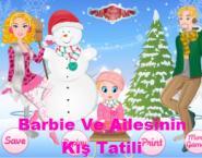 Barbie Ve Ailesinin Kış Tatili