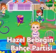 Hazel Bebeğin Bahçe Partisi