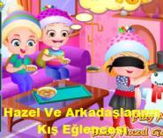 Hazel Ve Arkadaşlarının Kış Eğlencesi