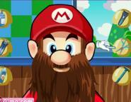 Mario'yu Tıraş Et