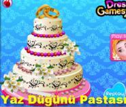 Yaz Düğünü Pastası