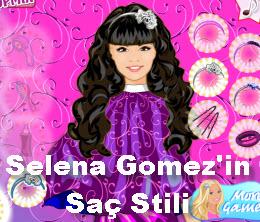 Selena Gomez'in  Saç Stili