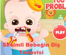 Sevimli Bebeğin Diş Tedavisi