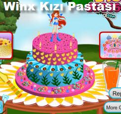 Winx Kızı Pastası