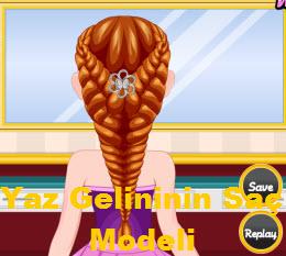 Yaz Gelininin Saç Modeli
